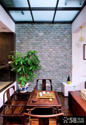 复古中式客厅设计欣赏