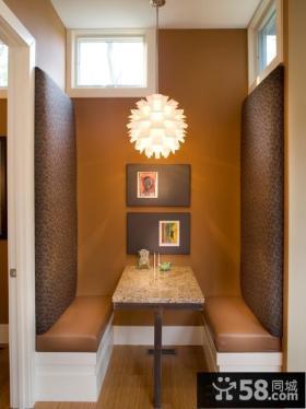 美式风格设计小餐厅图片