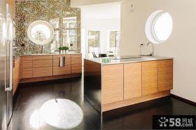 开放式厨房小橱柜设计