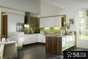 美式家装设计厨房橱柜图片欣赏