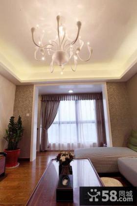 简约二居卧室灯具设计