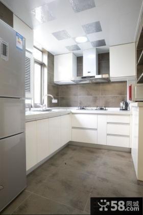 现代厨房设计效果图片