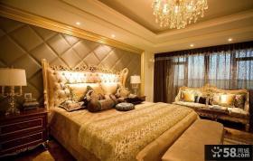 豪宅卧室设计效果图