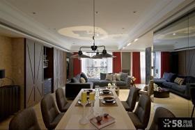 美式设计客餐厅图片大全