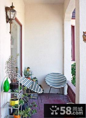 日式室内阳台花园设计图片