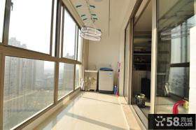 现代风格大窗户阳台效果图片