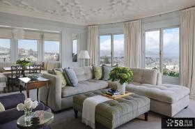 优质简欧客厅装修效果图片
