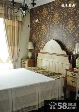 小面积卧室壁纸装修效果图