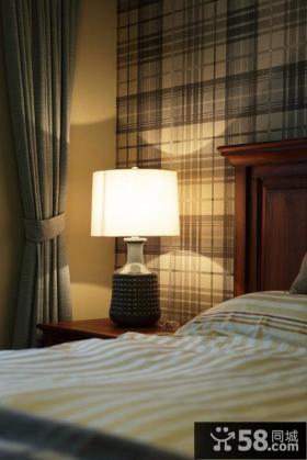 美式田园风格公寓室内装饰效果图