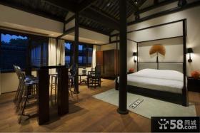 50平米小户型客厅古典家具图片