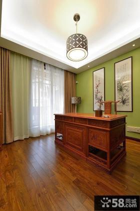 中式风格小别墅室内装修设计图片