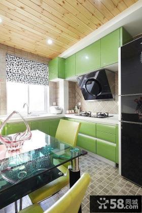 开放式厨房设计效果图片欣赏