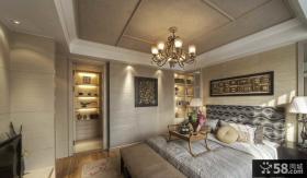 现代时尚复式卧室装饰效果图