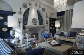 地中海风格装修设计豪华别墅图片欣赏大全