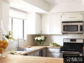 现代式厨房装修效果图片2014