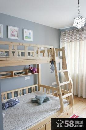 田园风格复式家居室内设计效果图