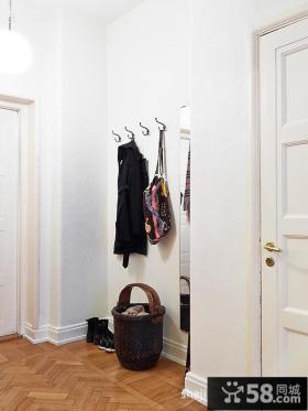小户型客厅进门玄关装修效果图