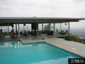 一层别墅玻璃阳光房设计