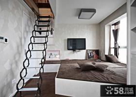 卧室阁楼楼梯设计图