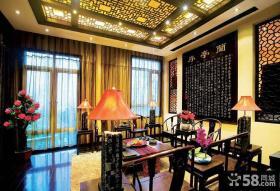 儒雅古典复式家装案例