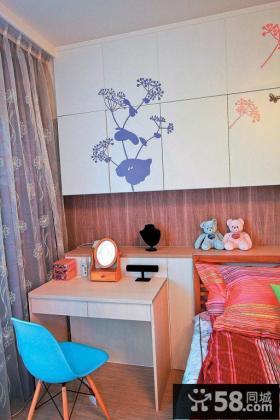 日式家庭设计装修卧室窗帘图片大全