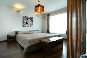 家庭卧室简单装修效果图