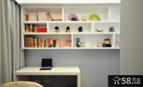简约风格70平米两室一厅吧台装修效果图