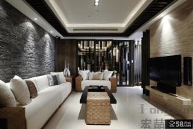 现代小户型客厅装修效果图欣赏
