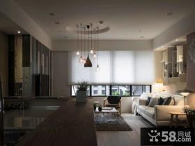 现代设计客厅吊顶图