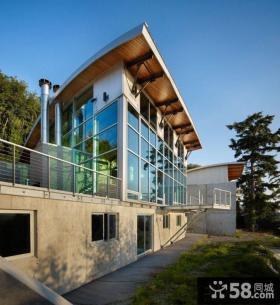 现代别墅外观设计图片