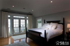 简欧风格卧室装修效果图大全2012图片