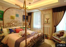 简欧风格卧室装修设计效果图片