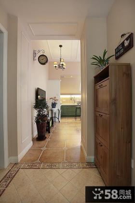 美式风格两居室装修效果图2015