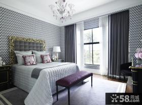 欧式装修装饰 卧室吊顶