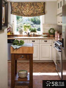 欧式厨房装修效果图欣赏大全