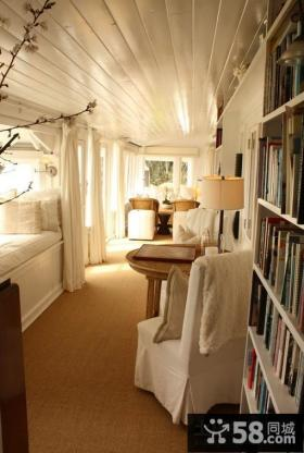 90平米三室一厅休闲区装修效果图