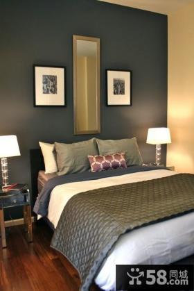 小卧室装修效果图 卧室背景墙装修效果图