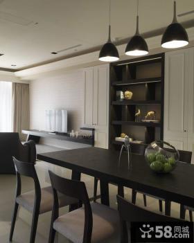 简约现代家装三居设计效果图片