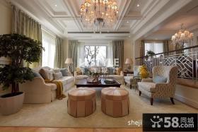 别墅家居客厅装饰设计图