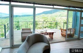 家庭装修开放式阳台设计效果图欣赏大全