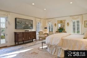 欧式主卧室装修效果图大全2012图片 卧室窗帘装饰图片