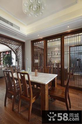 中式设计三室两厅设计图