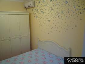 优质欧式小卧室壁纸装修效果图
