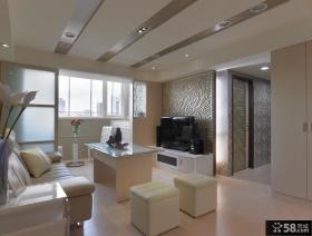 中式装修简约风格客厅设计