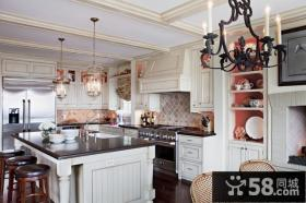 欧式别墅厨房装修效果图大全2013图片欣赏