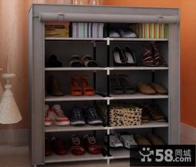 现代风格入户花园鞋柜装修效果图