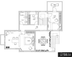 混搭别墅图纸设计效果图