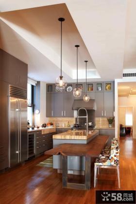 美式厨房装修效果图大全2013图片