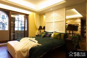 欧式风格卧室装潢图片