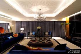 125平米三室一厅现代风格装修设计效果图